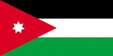 Клипарт флаг Иордании, для Фотошоп в PSD и PNG, без фона