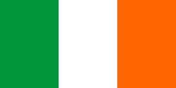 Клипарт флаг Ирландии, для Фотошопа в PSD и PNG, без фона