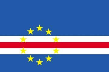 Клипарт флаг Кабо-Верде, для Фотошопа в PSD и PNG, без фона