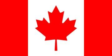 Клипарт флаг Канады, для Фотошопа в PSD и PNG, без фона
