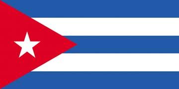 Клипарт флаг Кубы, для Фотошопа в PSD и PNG, без фона