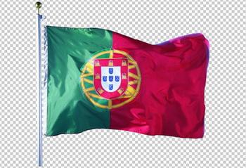 Клипарт флаг Португалии, фотошоп, PSD PNG без фона