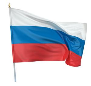 Клипарт флаг России (РФ), для Фотошоп в PSD и PNG, без фона