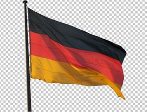 Клипарт флаг Германии, для Фотошоп в PSD и PNG, без фона