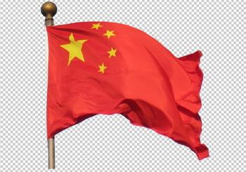 Клипарт флаг Китая (КНР), фотошоп, PSD PNG без фона