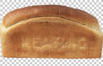 Клипарт хлеб кирпич, для Фотошоп в PSD и PNG, без фона