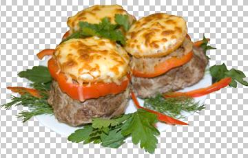 Клипарт закуска, для Фотошоп в PSD и PNG, без фона
