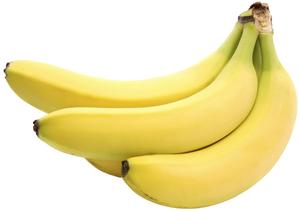 Клипарт банан, для Фотошоп в PSD и PNG, без фона