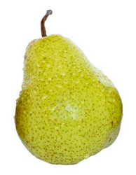Клипарт груша, для Фотошоп в PSD и PNG, без фона