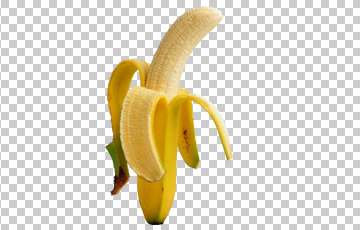 Banana transparent tumblr
