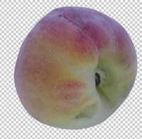 Клипарт персик, для Фотошоп в PSD и PNG, без фона