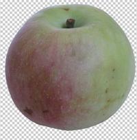 Клипарт яблоко, для Photoshop в PSD и PNG, без фона