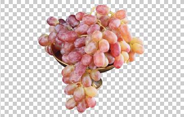 Клипарт виноград, для Фотошоп в PSD и PNG, без фона