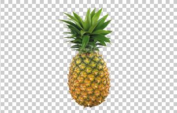 Клипарт ананас, для Фотошоп в PSD и PNG, без фона