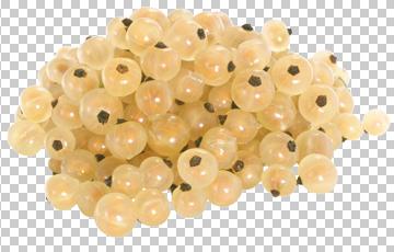 Клипарт желтая смородина, для Фотошоп в PSD и PNG, без фона