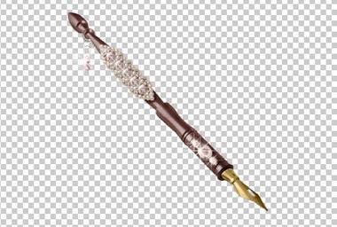 Клипарт перьевая ручка, для Фотошоп в PSD и PNG, без фона