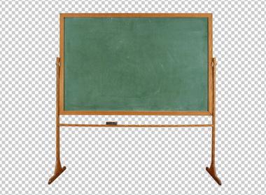 Клипарт школьная (классная) доска, для Фотошоп в PSD и PNG, без фона