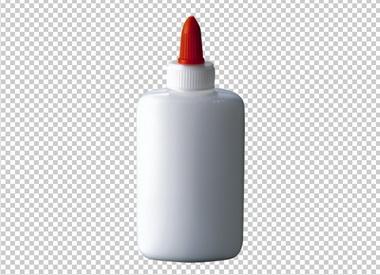 Клипарт клей, для Фотошоп в PSD и PNG, без фона