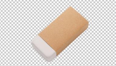 Клипарт ластик, для Фотошоп в PSD и PNG, без фона