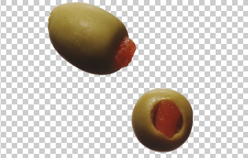 Клипарт оливки, для Фотошоп в PSD и PNG, без фона