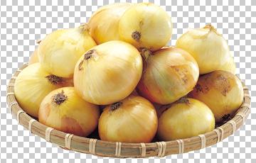 Клипарт лук на блюде, для Фотошоп в PSD и PNG, без фона
