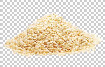 Клипарт желый рис, для Фотошоп в PSD и PNG, без фона