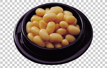 Клипарт вареная фасоль, для Фотошоп в PSD и PNG, без фона