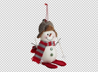 Клипарт снеговик, в PNG и PSD, без фона